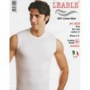 LEABLE 6 T-SHIRT UOMO SMANICATA COTONE ALEX