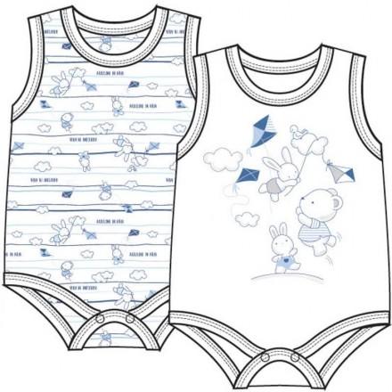 ELLEPI 2 BODY BABY COTONE SPALLA LARGA 5160