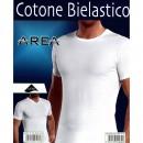 AREA INTIMO T-SHIRT UOMO COTONE ELASTICIZZATO 816