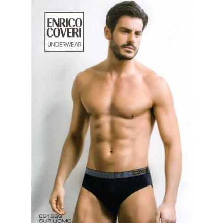 ENRICO COVERI 6 SLIP UOMO COTONE ELASTICIZZATO ES1699