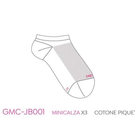 JADEA 12 PAIA MINI CALZA COTONE BIMBA GMC-JB001