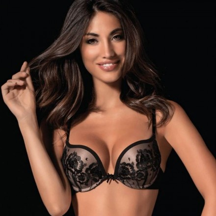 LOVE&BRA PUSH-UP DONNA TULLE ROYALE