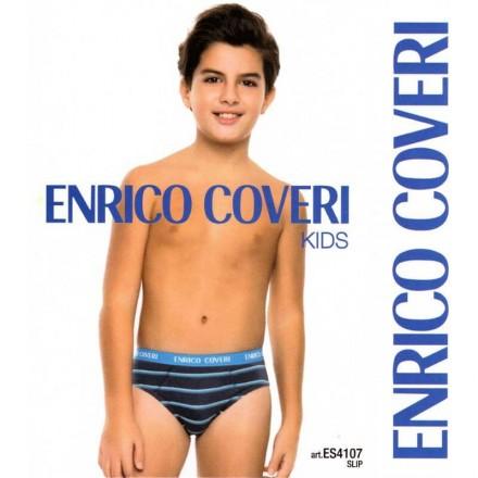 ENRICO COVERI 6 SLIP JUNIOR COTONE ELASTICIZZATO ES4107