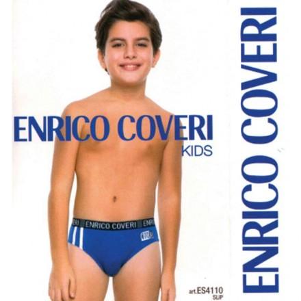 ENRICO COVERI 6 SLIP JUNIOR COTONE ELASTICIZZATO ES4110