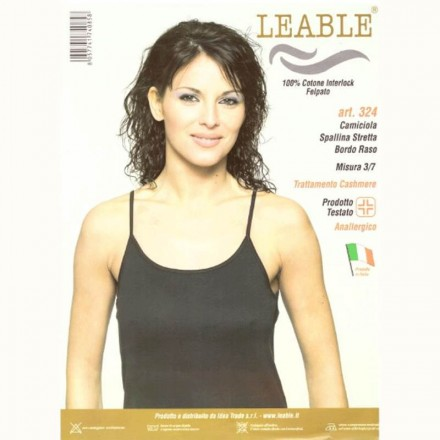 LEABLE 3 TOP DONNA COTONE INTERLOCK 324