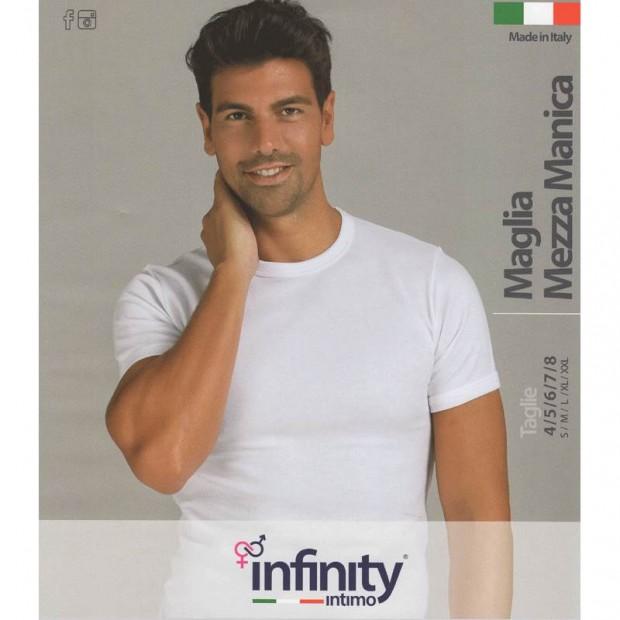 INFINITY 4 MAGLIA UOMO CALDO COTONE MANICA CORTA 05
