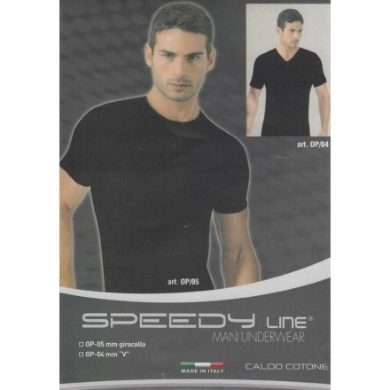 SPEEDYLINE T-SHIRT UOMO INTERLOCK MEZZA MANICA OP/05 808
