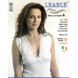 LEABLE CANOTTA DONNA SPALLA LARGA 453