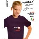 LEABLE 6 T-SHIRT BIMBO COTONE MANICA CORTA 1434