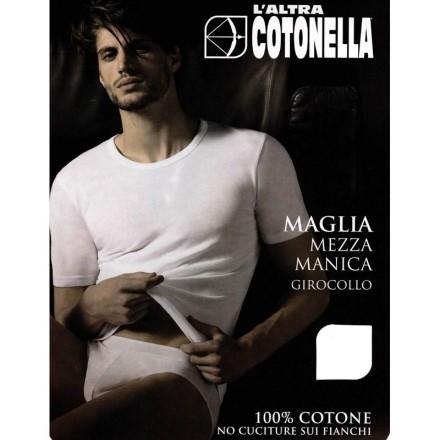 COTONELLA 3 T-SHIRT UOMO MANICA CORTA COTONE AU090