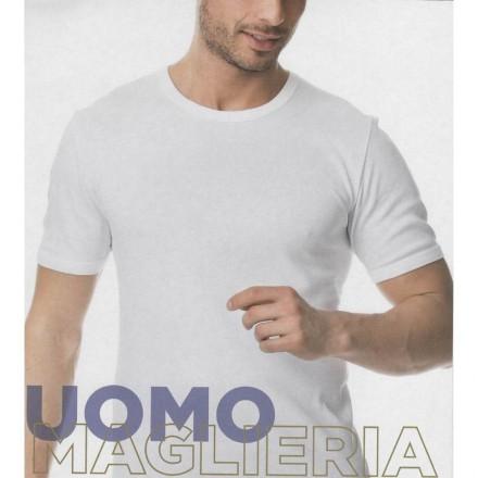 NYMAF MAGLIA UOMO DOUBLE MANICA CORTA