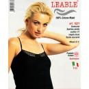 LEABLE 6 TOP DONNA COTONE SPALLINA STRETTA 1521