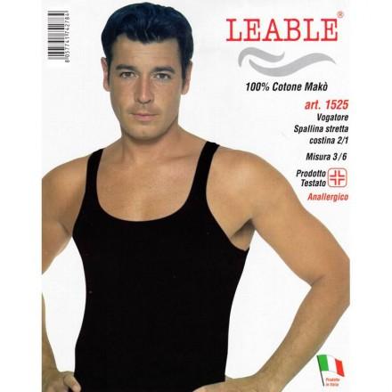 LEABLE 6 VOGATORE UOMO COTONE SPALLINA STRETTA 1525